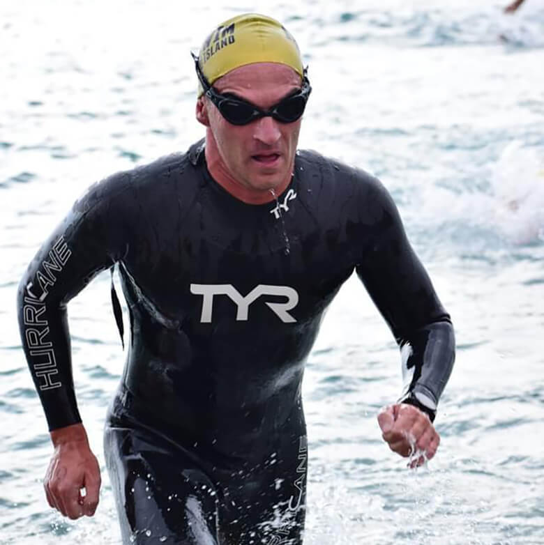 Rocco Americo open water